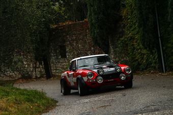 Finati Maurizio,Codotto Martina((Fiat 124 Abarth,#119), CAMPIONATO ITALIANO RALLY AUTO STORICHE