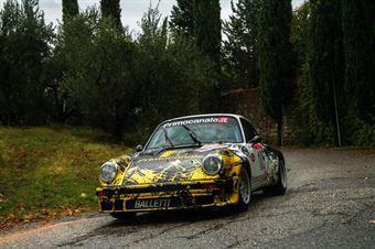 Rossi Maurizio,Imerito Riccardo(Porsche 911 sc,#105), CAMPIONATO ITALIANO RALLY AUTO STORICHE
