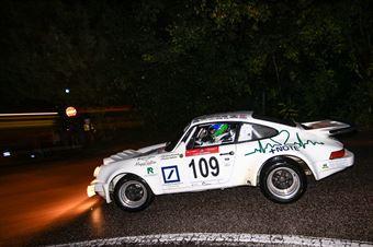 Andreis Riccardo,Farina Stefano(Porsche 911 rs,Car Racing,#109), CAMPIONATO ITALIANO RALLY AUTO STORICHE