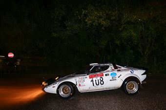 Costenaro Giorgio,Marchi Sergio(Lancia Stratos Hf,Team Bassano,#108), CAMPIONATO ITALIANO RALLY AUTO STORICHE