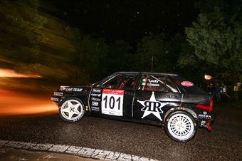 Lucky,Cazzaro Luigi(Lncia Rally 037,Isola Vicentina,#101), CAMPIONATO ITALIANO RALLY AUTO STORICHE
