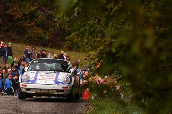 Montini Roberto,Zoanni Erika(Porsche 911Sc,Piacenza Corse,#110), CAMPIONATO ITALIANO RALLY AUTO STORICHE