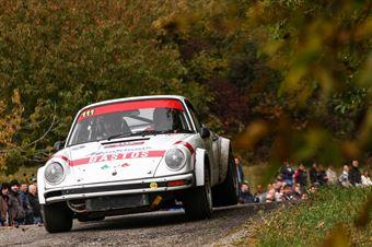 Manfrinato Antonio,Manfrinato Michele(Porshe 911Sc,Porto Cervo Racing,#111), CAMPIONATO ITALIANO RALLY AUTO STORICHE