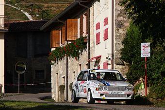 Luise Matteo,Ferro Melissa(Ritmo Abarth 130 TC,#124), CAMPIONATO ITALIANO RALLY AUTO STORICHE