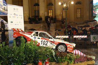 Pedro,Beltrame Luca(Lancia Rally 037,Isola Vicentina,#102), CAMPIONATO ITALIANO RALLY AUTO STORICHE