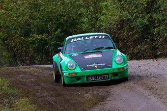 Salvini Alberto,Tagliaferri Davide(Porsche 911 rsr,Piacenza Corse,#106), CAMPIONATO ITALIANO RALLY AUTO STORICHE