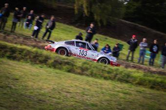 Da Zanche Lucio,De Luis Daniele(Porsche 911 rs,Piacenza Corse,#103), CAMPIONATO ITALIANO RALLY AUTO STORICHE