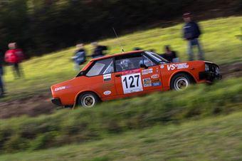 Bombieri Raffaele,Scardoni Paolo(Fiat 131,Scaligera Rally,#127), CAMPIONATO ITALIANO RALLY AUTO STORICHE