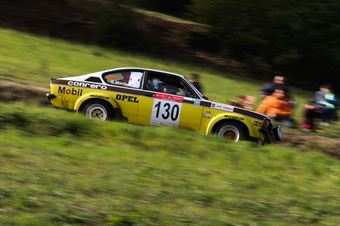 Questi Giacomo,Morina Giovanni(Opel Kadet GTe,#130), CAMPIONATO ITALIANO RALLY AUTO STORICHE