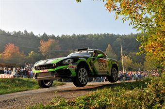 Fabrizio Andolfi Jr, Elia Ungaro (Abarth 124 Rally #12, Eurospeed), CAMPIONATO ITALIANO RALLY SPARCO