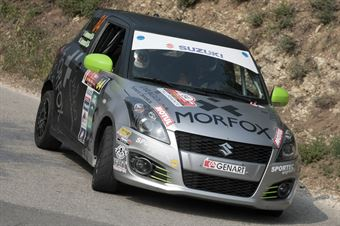 Roberto Antonucci, Herbert Antonucci (Suzuki Swift R1 #84, Winners Rally Team), CAMPIONATO ITALIANO RALLY SPARCO