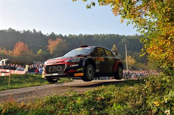 Elwis Chentre, Igor D Herin (Hyundai i20 R5 #5, New Drivers Team), CAMPIONATO ITALIANO RALLY SPARCO