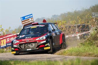 Elwis Chentre, Igor D Herin (Hyundai i20 R5, New Drivers Team), CAMPIONATO ITALIANO RALLY SPARCO