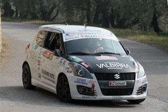 Lorenzo Coppe, Giacomo Poloni (Suzuki Swift R1 #82, Millennium Sport), CAMPIONATO ITALIANO RALLY SPARCO