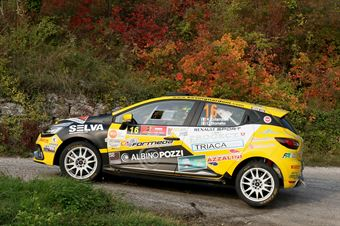 Kevin Gilardoni, Corrado Bonato (Renault Clio R3T #16, Movisport), CAMPIONATO ITALIANO RALLY SPARCO