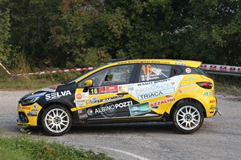 Kevin Gilardoni, Corrado Bonato (Renault Clio #16, Movisport), CAMPIONATO ITALIANO RALLY SPARCO