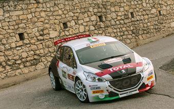 Marco Pollara, Giuseppe Princiotto (Peugeot 208T16 R5 #7), CAMPIONATO ITALIANO RALLY SPARCO