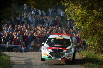 Marco Pollara, Giuseppe Princiotto (Peugeot 208 T16 R5 #7), CAMPIONATO ITALIANO RALLY SPARCO