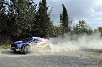 Daniele Ceccoli, Piercarlo Capolongo (Ford Fiesta R5 #5, Giesse Promotion), CAMPIONATO ITALIANO RALLY TERRA