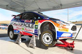 Andrea Dalmazzini, Giacomo Ciucci (Ford Fieta R5 #1, X Race Sport), CAMPIONATO ITALIANO RALLY TERRA