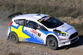 Giovanni Manfrinato, Claudio Condotta (Ford Fiesta R5 #7, Team Autoservice Sport), CAMPIONATO ITALIANO RALLY TERRA