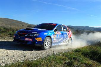 Pio Nicolini, Franco Fedel (Subaru Impreza #92, Destra 4 Squadra Corse), CAMPIONATO ITALIANO RALLY TERRA