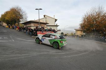 Alessandro Taddei, Andrea Gaspari (Skoda Fabia R5 #10, Car Racing), CAMPIONATO ITALIANO RALLY TERRA