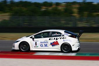 Emanuele Alborghetti (MM Motorsport,Honda Civic TCR#6) , TCR ITALY TOURING CAR CHAMPIONSHIP