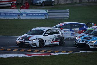 Massimiliano Gagliano (Volkswagen Golf GTI TCR #21) , TCR ITALY TOURING CAR CHAMPIONSHIP