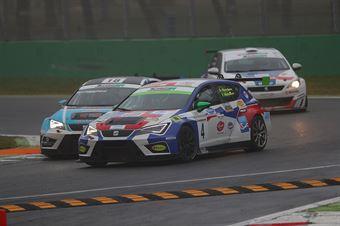 Montalbano Montalbano (BF Racing,Seat Leon Racer TCR #4), Cosimo Barberini (ITA) ABARTH 695,C &C Racing Team , TCR ITALY TOURING CAR CHAMPIONSHIP