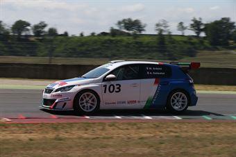 Arduini Sabbatini (Arduini Corse,PeugeoT 308 MI16 TCT#103) , TCR ITALY TOURING CAR CHAMPIONSHIP