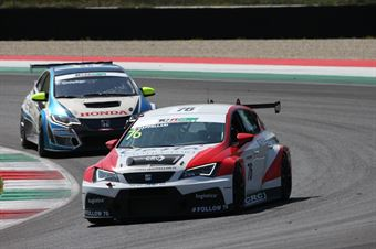 Daniele Cappellari (Seat Leon Racer TCR #76) , TCR ITALY TOURING CAR CHAMPIONSHIP
