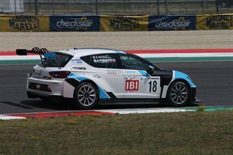 Chini Barberini (Seat Leon Racer TCR #18) , TCR ITALY TOURING CAR CHAMPIONSHIP