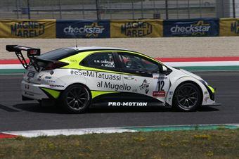 Gabbiani Mosca (MM Racing,Honda Civic TCR #12) , TCR ITALY TOURING CAR CHAMPIONSHIP