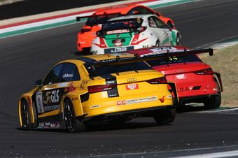 Max Mugelli (Pit Lane,Audi RS3 LMS TCR #3),  Plamen Kralev (Kraf Racing,Audi RS3 LMS TCR #44) , TCR ITALY TOURING CAR CHAMPIONSHIP