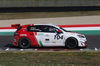 Raimondo Ricci (Sport & Comunicazione by Autostar,PeugeoT 308 MI16 TCT#104) , TCR ITALY TOURING CAR CHAMPIONSHIP
