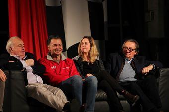 Maurizio Ambrogetti (ITA) J.A.S. Motorsport's President, Roberto Colciago (ITA) Honda , Michela Cerruti (ITA) Alfa Romeo Giulietta TCR, Giancarlo Minardi (ITA) , TCR ITALY TOURING CAR CHAMPIONSHIP