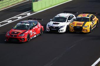 Nicola Baldan (Pit Lane,Seat Leon TCR TCR #8), Davide Nardilli (MM Motorsport,Honda Civic TCR TCR #46), Max Mugelli (Pit Lane,Audi RS3 LMS TCR #3) , TCR ITALY TOURING CAR CHAMPIONSHIP