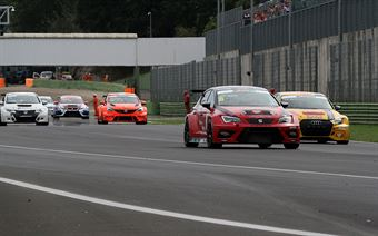 Nicola Baldan (Pit Lane,Seat Leon TCR TCR #8), Max Mugelli (Pit Lane,Audi RS3 LMS TCR #3) , TCR ITALY TOURING CAR CHAMPIONSHIP