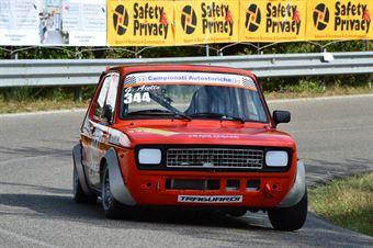 Giuseppe Aiello (Team Italia – Fiat 127 Sport – 344), CAMPIONATO ITALIANO VEL. SALITA AUTO STORICHE