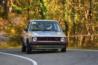 Eugenio Andreotti (Bologna Squadra Corse – Volkswagen Golf – 311), CAMPIONATO ITALIANO VEL. SALITA AUTO STORICHE