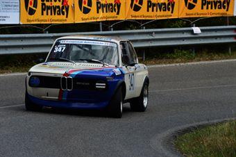 Salvatore Asta (Bologna Squadra Corse – BMW 2002 Tii – 347), CAMPIONATO ITALIANO VEL. SALITA AUTO STORICHE