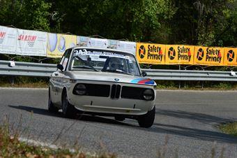 Antonio Bardi (Squadra Piloti Senesi – BMW 2002 Tii – 243), CAMPIONATO ITALIANO VEL. SALITA AUTO STORICHE