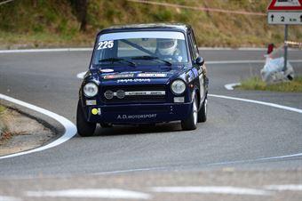 Stefano Bartoloni (Team Italia – Autobianchi A 112 Abarth – 225), CAMPIONATO ITALIANO VEL. SALITA AUTO STORICHE