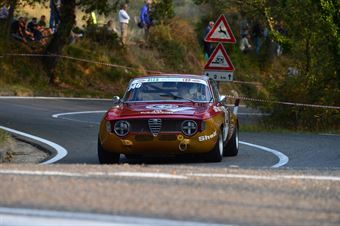 Luigi Berra (Cassia Corse – Alfa Romeo Giulia Sprint GTV – 246), CAMPIONATO ITALIANO VEL. SALITA AUTO STORICHE