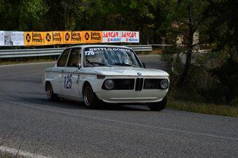 Franco Betti (Squadra Piloti Senesi – BMW 2002 Ti – 125), CAMPIONATO ITALIANO VEL. SALITA AUTO STORICHE
