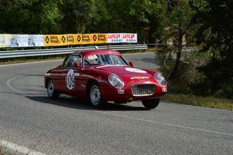Massimiliano Boldrini (Team Italia – Lancia Appia GTE Zagato – 109), CAMPIONATO ITALIANO VEL. SALITA AUTO STORICHE