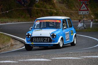 Cristian Burzi (Valdelsa Classic – Innocenti Cooper   233), CAMPIONATO ITALIANO VEL. SALITA AUTO STORICHE
