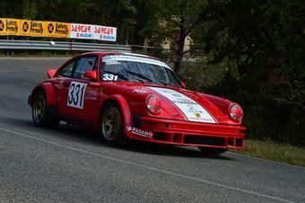 Tonino Camilli (Team Italia – Porsche 911 SC   331), CAMPIONATO ITALIANO VEL. SALITA AUTO STORICHE