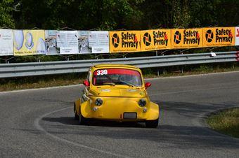 Dino Carusone (Clemente Biondetti   Giannini 650 NP – 339), CAMPIONATO ITALIANO VEL. SALITA AUTO STORICHE